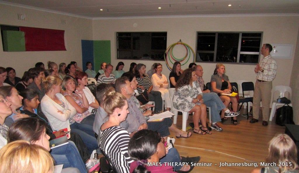 MAES Therapy Seminar, Johannesburg 3.03.2015