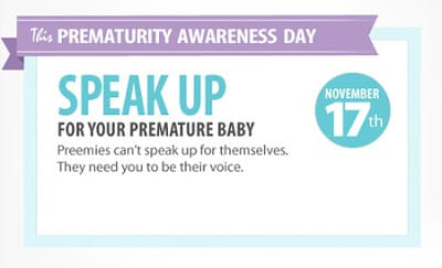 world prematurity day maes therapy