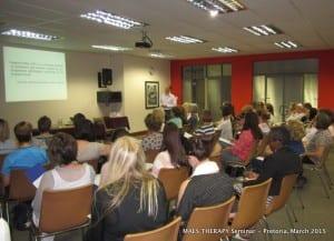 MAES Therapy Seminar, Pretoria 4.03.15 2-002