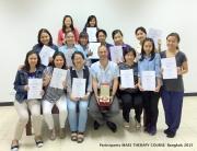 Participants-MAES Therapy Course, Bangkok Spring 2015