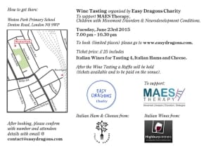 Flyer - Wine Tasting Event 23 June page 2 infomation