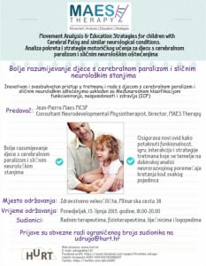 TALK - MAES Therapy for Professionals,  Zagreb 15.06.15