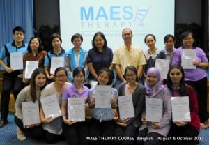 MAES Therapy Course Bangkok August & October 2015