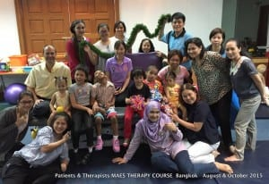 Patients & Therapists - MAES Therapy Course Bangkok August & October 2015