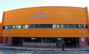 MAES Therapy Seminar – March 2016 - Venue: Metin Sabancı Spastik Çocuklar Merkezi