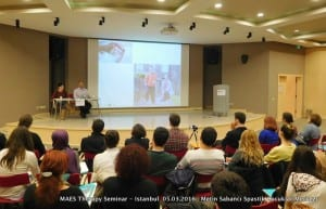 MAES Therapy Seminar - Istanbul (Asian side) – 5 March 2016