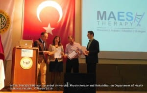 MAES Therapy Seminar, Istanbul University 07.03.2016