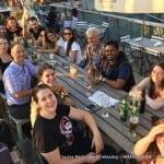 Course Participants relaxing - MAES Course, Budapest 2016