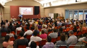 MAES Therapy Seminar - Johannesburg 2016