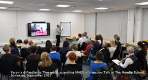 MAES Therapy TALK Cerebral Palsy