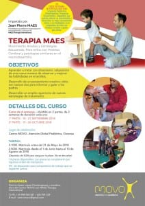 MAES Therapy Course for paediatric therapists treating children with CP and neurodevelopmental conditions - Spain 2018