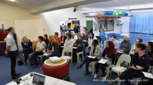 MAES Therapy Introduction Course for Paediatric Therapists treating CP - Cape Town 2017