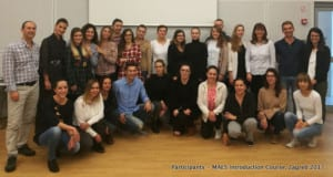 Participants - MAES Introduction Course - Zagreb Oct.2017