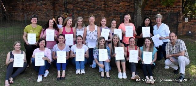 Participants - MAES Course, Johannesburg 2017