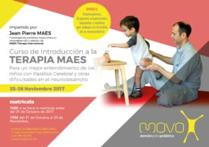 MAES Therapy Introduction Course - Ourense, NW Spain 2017 for paediatric therapists treating children with CP