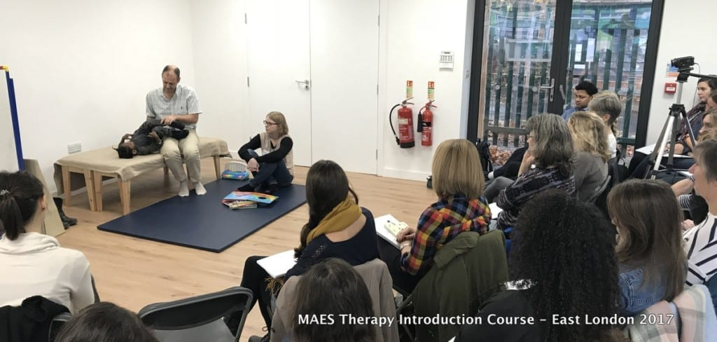 MAES Therapy Introduction Course - East London 2017 for paediatric therapists treating children with CP