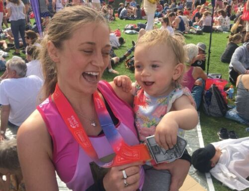 Portia runs London Marathon for MAES Therapy!