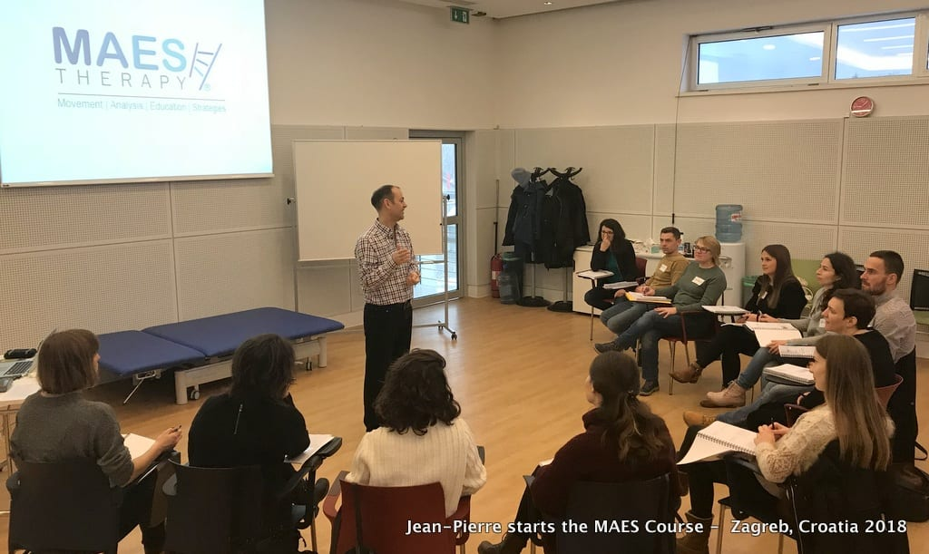 Maes Course Zagreb 2019 Maes Therapy Movement Disorders