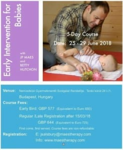 MAES Early Intervention for Babies Course