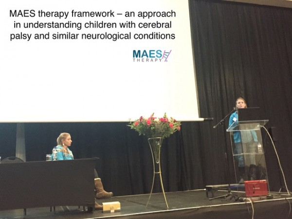 MAES Therapy presentation- National Cerebral Palsy Conference South Africa - May 2018