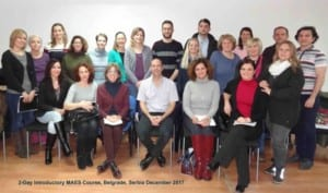 Participants - MAES Introduction Course, Belgrade 2017