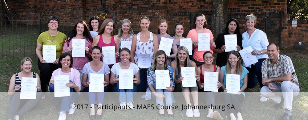 Participants - MAES Course johannesburg 2017