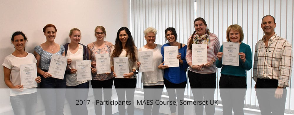 Participants - MAES Course somerset 2017