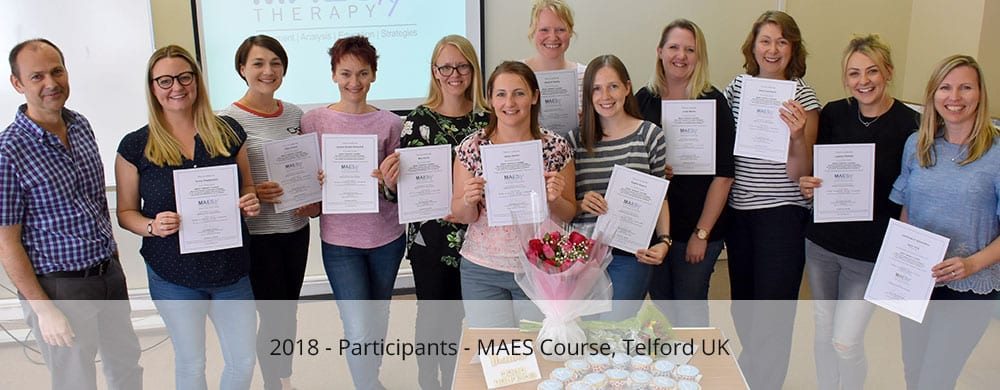Participants - MAES Course telford 2018