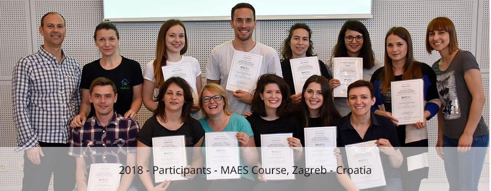 Participants - MAES Course zagreb 2018