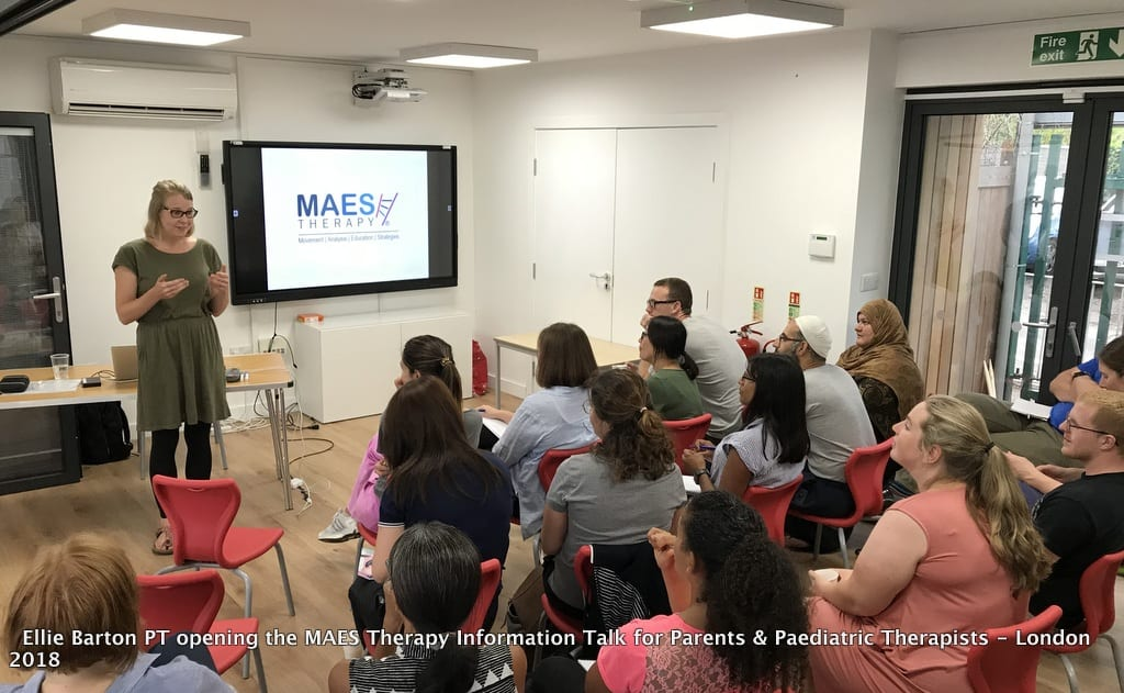 MAES Therapy Information Talk for Parents & Paediatric Therapists - London