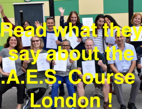 Read what they say about the M.A.E.S. Course in London !