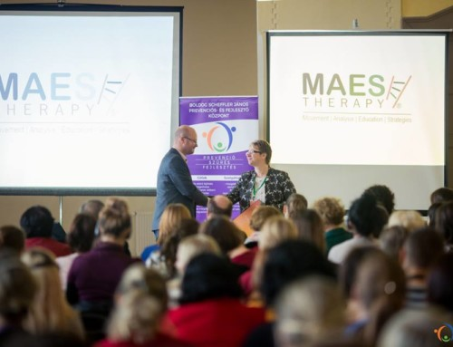 Presentation about M.A.E.S. Therapy to Connecting Therapies Conference, Romania
