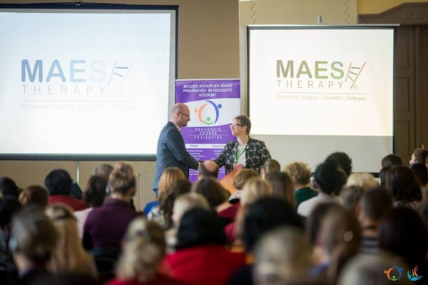 M.A.E.S. Therapy - Connecting Therapies Conference, Romania 2018