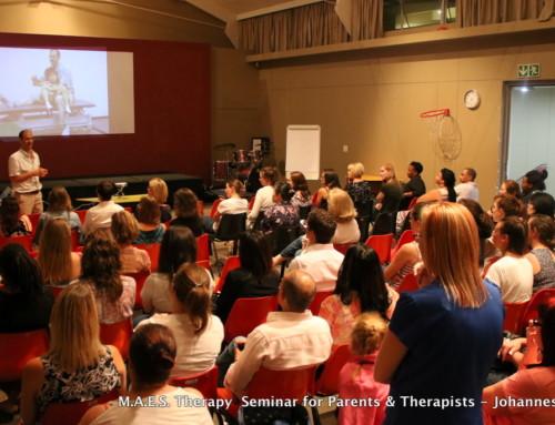 M.A.E.S. Therapy  Information Seminar – Johannesburg 2018