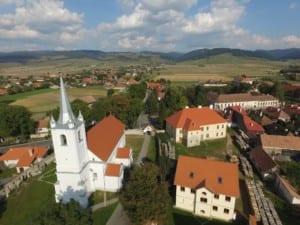 Sânmartin (Csíkszentmárton) - Location of MAES Course, Transylvania, Romania 2019