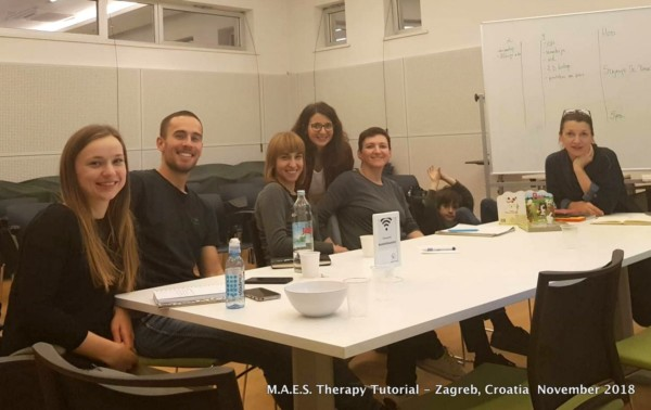 M.A.E.S. Therapy Tutorial - Zagreb, Croatia Nov.2018