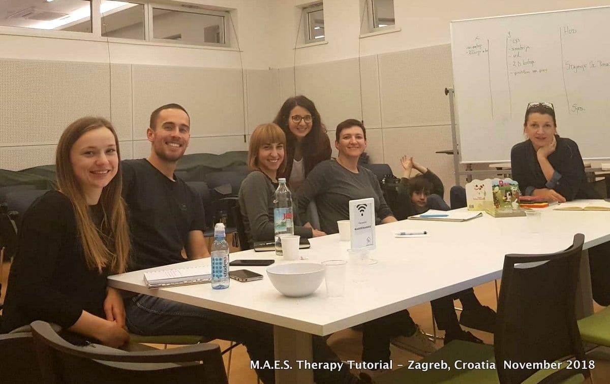 M.A.E.S. Therapy Tutorial - Zagreb, Croatia Nov.2018