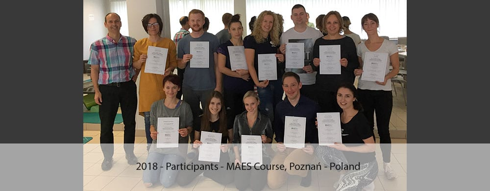 2018-Participants-with-Certificates-MAES-Course-poznan-poland-2