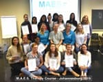M.A.E.S. Therapy Course for Paediatric Therapists (PT,OT), Wits University, Johannesburg 2019