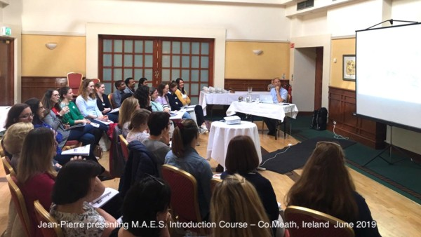 M.A.E.S. Therapy Introduction Course - Ireland 2019 for pediatric therapists
