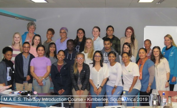 M.A.E.S. Therapy Introduction Course - Kimberley, South Africa 2019