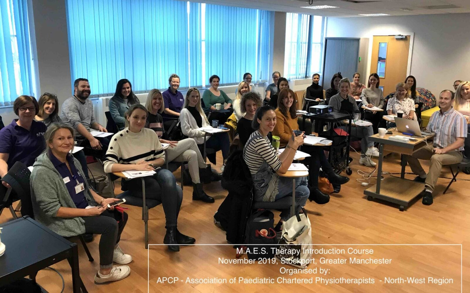 APCP NW - MAES Introduction Course Nov.2019 for paediatric Therapists treating CP
