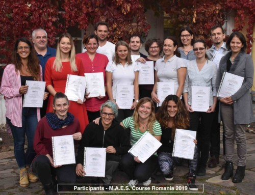 1st  M.A.E.S. Therapy Course in Romania – A Great Success !