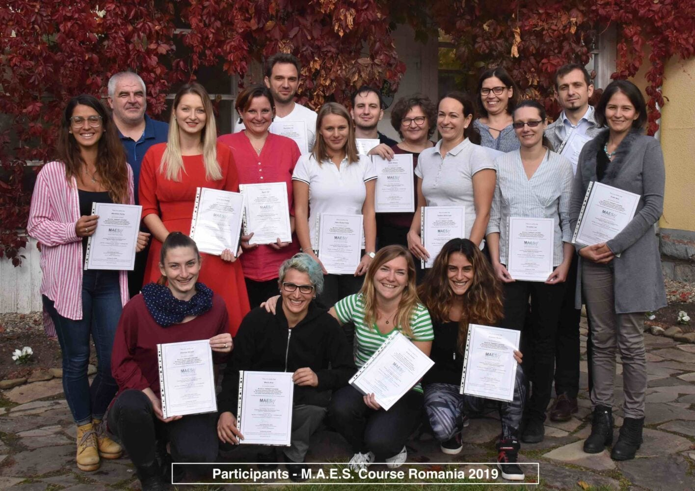 Specialist neurodevelopmental course Cerebral Palsy, MAES Therapy Transylvania, Romania