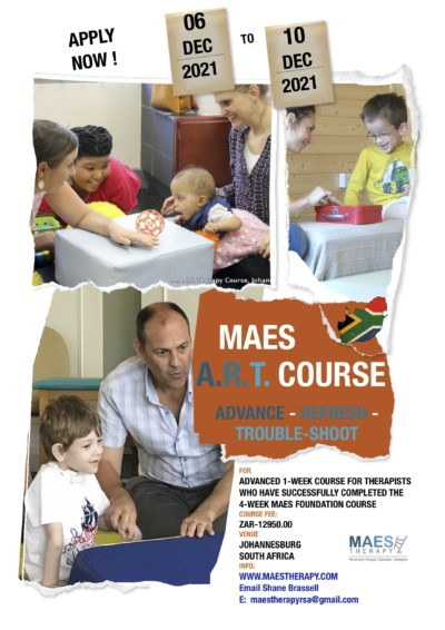 Advanced MAES Therapy Course for paediatric therapists treating babies and children with Cerebral Palsy and similar neurodevelopment conditions
