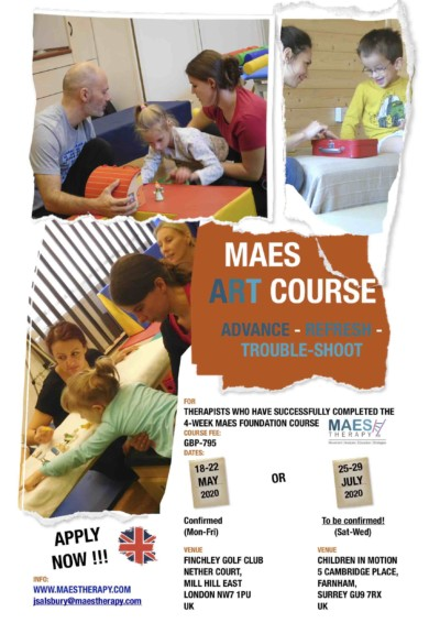 MAES A.R.T. Courses - UK May & July 2020
