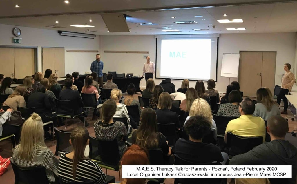 M.A.E.S. Therapy Seminar for Parents & Paediatric Therapists – Poznań, Poland