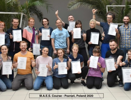 2nd  M.A.E.S. Therapy Course in Poland – a great success!