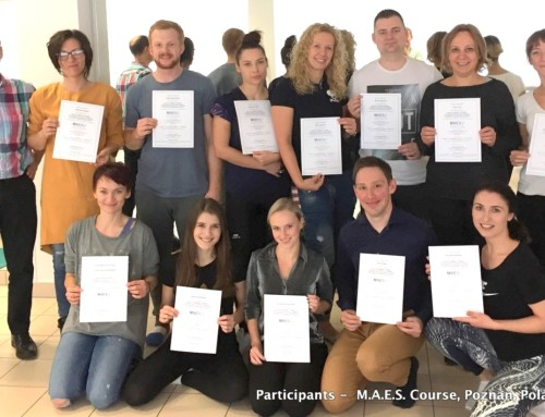1st M.A.E.S. Therapy Course in Poland- a great success!