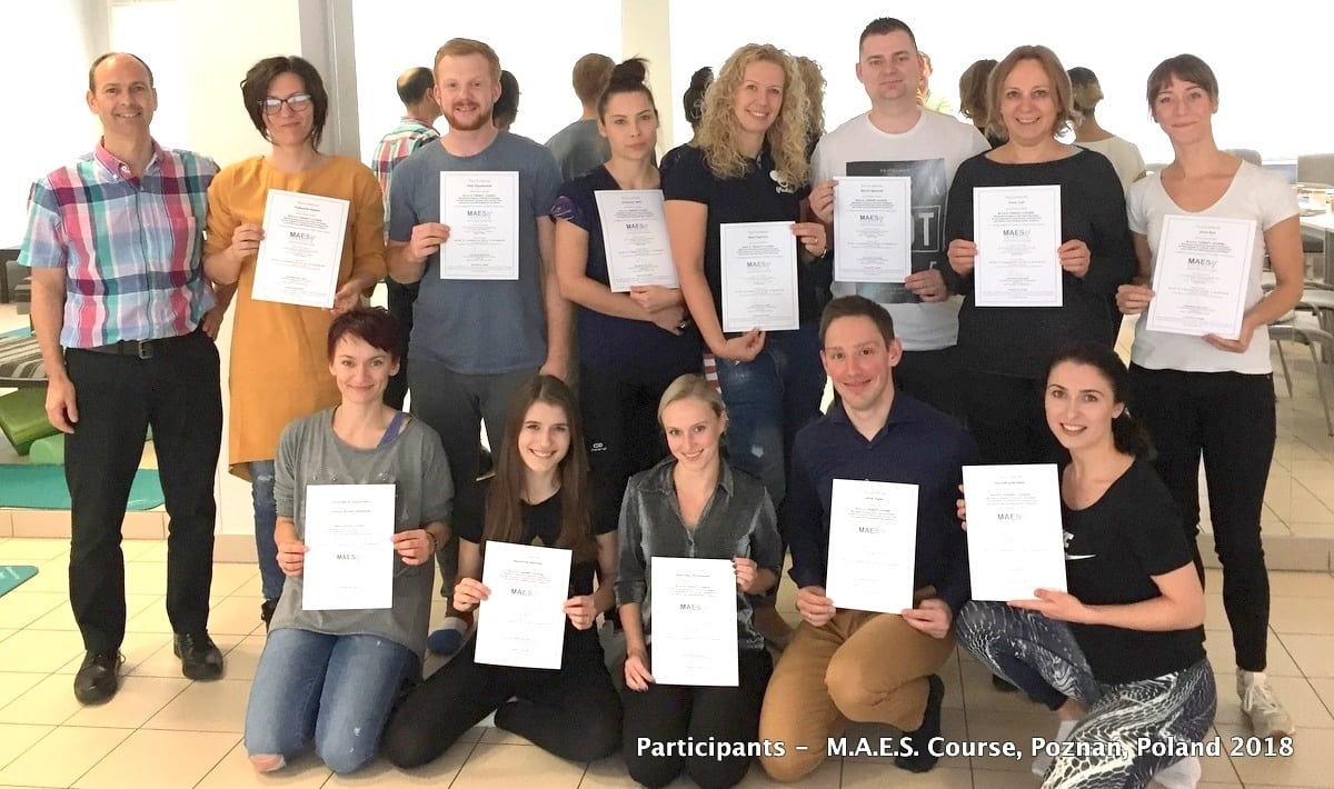 M.A.E.S. Therapy Course - advanced and highly specialised 'hands-on' treatment for children with CP Paediatric Therapists training course, Poland